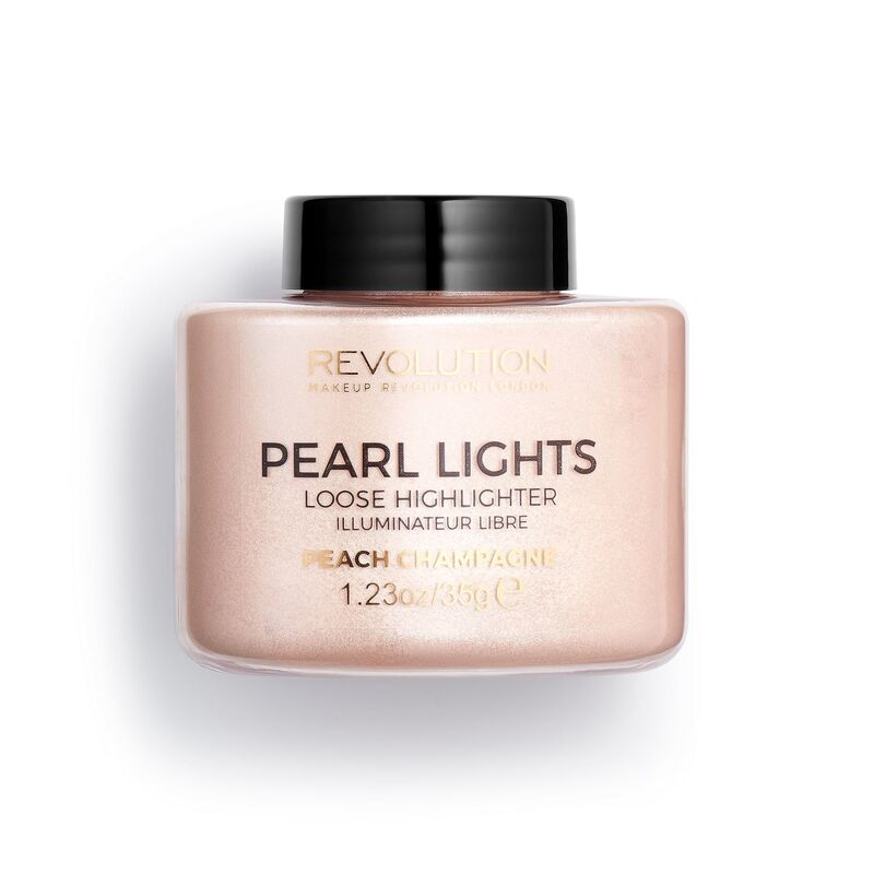 Рассыпчатый хайлайтер PEARL LIGHTS LOOSE HIGHLIGHTER Peach Champagne, Revolution Makeup