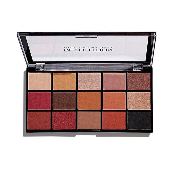 Палетка теней Re-Loaded Palette Iconic Vitality, Makeup Revolution