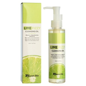 Масло гидрофильное LIME FIZZY CLEANSING OIL, Secret Skin