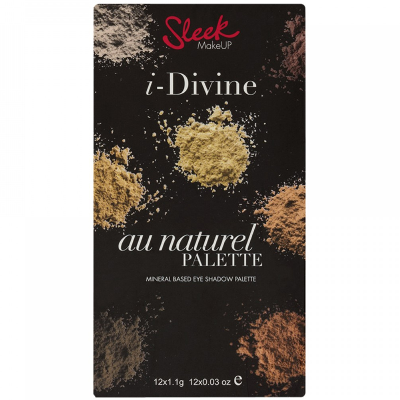 Палетка теней I-Divine AU Naturel Sleek MakeUP