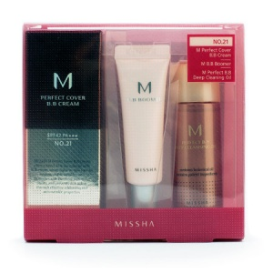 Набор миниатюр MISSHA M Perfect Cover All-In-One Kit