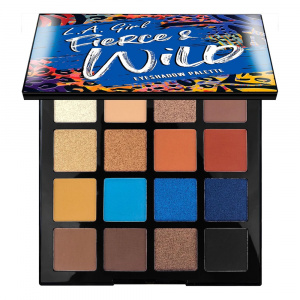 Палетка теней Fierce & Wild Eyeshadow Palette - Instinct, LAGirl