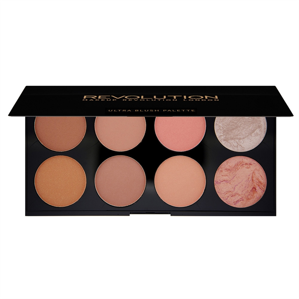 Палетка румян Ultra Blush Palette Hot Spice Makeup Revolution