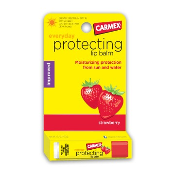 Carmex Protecting Strawberry Бальзам для губ 4,25 гр