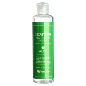 Тонер для лица с экстрактом алоэ Aloe Hydration Toner, Secret Skin