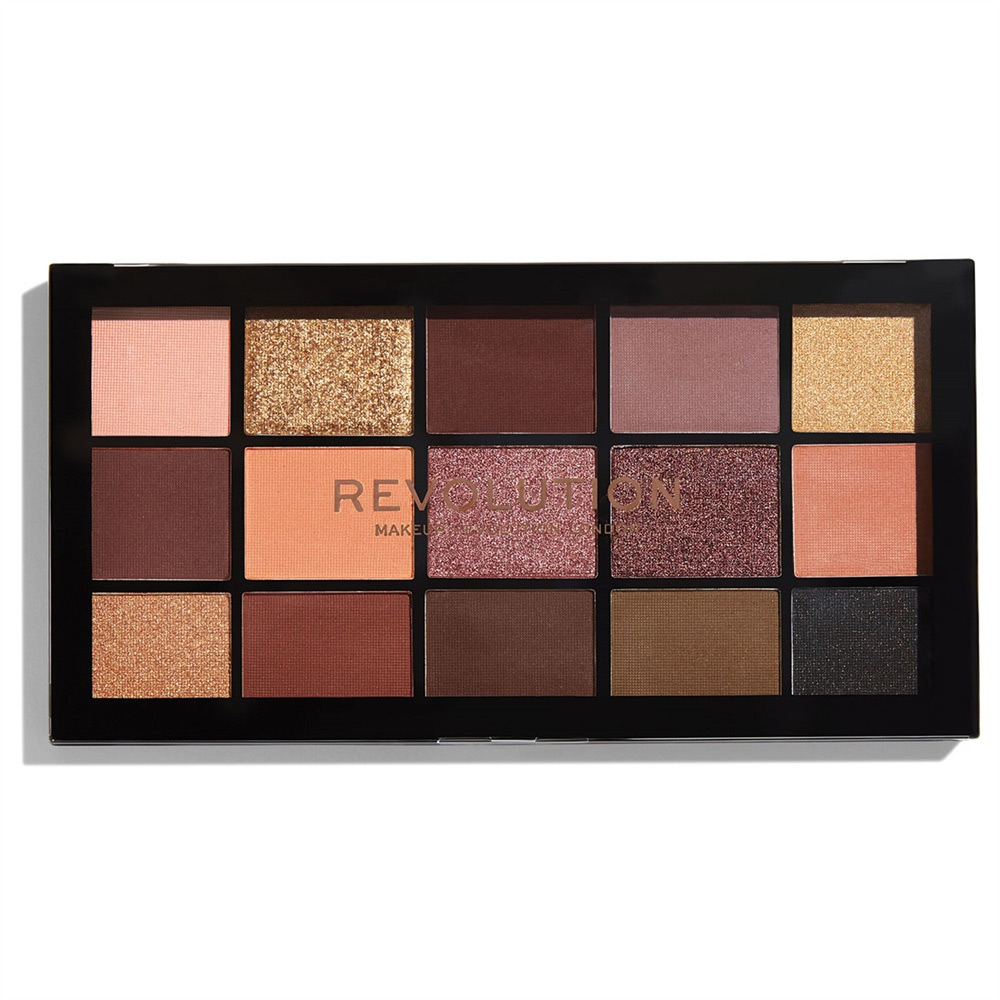 Палетка теней Re-Loaded Palette Velvet Rose, Makeup Revolution