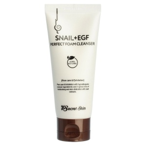 Пенка для умывания SNAIL+EGF PERFECT FOAM CLEANSER, Secret Skin