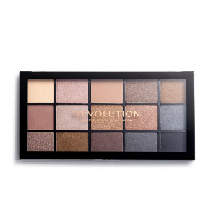 Палетка теней Re-Loaded Palette Smoky Newtrals, Makeup Revolution